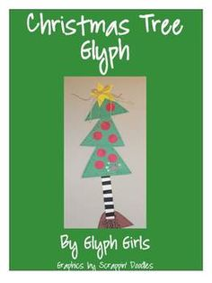 Christmas Tree Glyph  Glyph Girls TPT