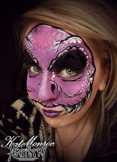 Unique face paint
