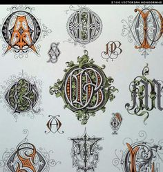 Books: Victorian Monograms (Lettering, Calligraphy, Typography) (Paperback) by Karl Klimsch Embroidery Monogram, Ribbon Embroidery, Cross Stitch Embroidery, Embroidery Patterns, Machine Embroidery, Vintage Embroidery, Embroidery Books, Monogram Design, Monogram Letters