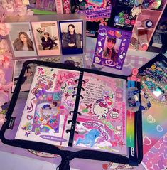 Creating A Bullet Journal, Bullet Journal Aesthetic, Book Aesthetic, Aesthetic Images, Aesthetic Anime, Bujo, Cute Images, Cute Pictures, Homemade Phone Cases
