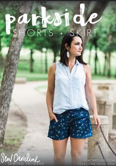 Today I'm excited to introduce the Parkside Shorts + Skirt, the newest pattern from the Sew Caroline collection.The Parkside Shorts + Skirt will soon be your go-to for warm weather. These two versatile patterns wrapped up into one are the perfect addition to your casual, yet put together wardrobe. Pair your shorts with a tank … … Continue reading →