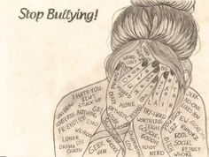 bullying drawing