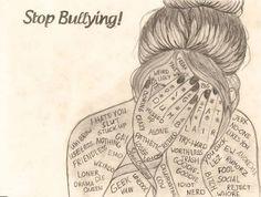 bullying drawing