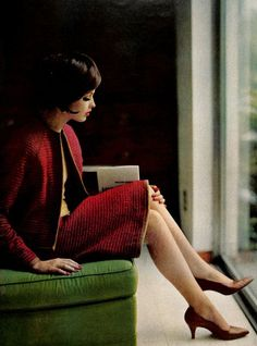 Suiting, McCalls pattern, 1961