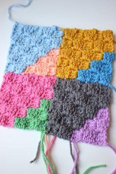 Geo Rainbow C2C Crochet Blanket – Zeens and Roger