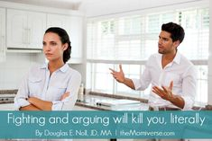 Fighting and arguing will kill you, literally | The Momiverse | argument, conflict management, stress, couples, family