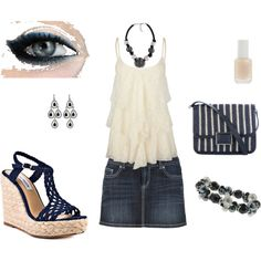Jean, created by PBMax on Polyvore