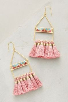 Shop the Luce Tassel Drop Earrings and more Anthropologie at Anthropologie today. Read customer reviews, discover product details and more.