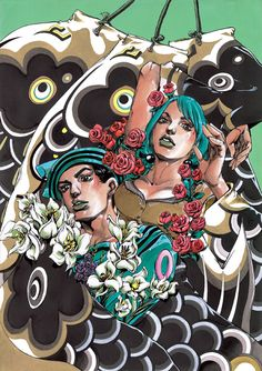 ryulongd:  All of the clean Ultra Jump covers for JoJolion so far