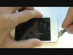 iPod Touch 4 Screen Repair Tutorial White Fix 4G Cracked Broken 4th Gen Glass (Detailed) - YouTube