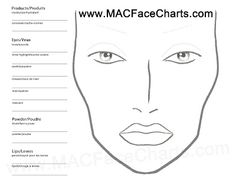 Free MAC Face Chart Download Yours Today http://bit.ly