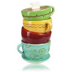C.I.C. Java Three Dimensional Cookie Jar #VonMaur
