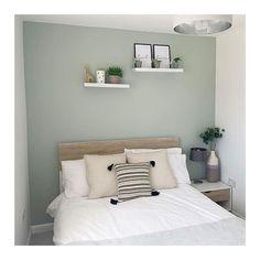 Bedroom Wall Colors, Room Design Bedroom, Room Ideas Bedroom, Home Room Design, Home Decor Bedroom, Dulux Bedroom Colours, Tranquil Bedroom, Relaxing Bedroom Colors, Calm Bedroom
