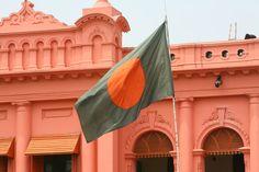 Pink Palace in Dhaka