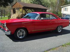 Old School Muscle Cars, Chevy Girl, Ford Classic Cars, Ford Fairlane, Nice Cars, American Muscle Cars, Street Rods, Amazing Cars, Ford Trucks