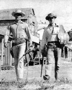 John Russell Peter Brown The Lawman Old Tv Shows, Best Tv Shows, Cowgirls, Russell Peters, Robert Fuller Actor, Old Western Movies, John Wayne, 1 John, Thing 1