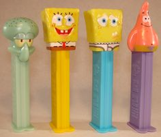 It's really the pez dispensers I like...not the candy so much.