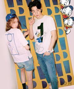 Lee Sung Kyung and Nam Joo Hyuk - Nylon Magazine April Issue Nam Joo Hyuk Lee Sung Kyung, Jong Hyuk, Sung Joon, Korean Actresses, Asian Actors, Korean Actors, Weightlifting Kim Bok Joo, Weightlifting Fairy, Weighlifting Fairy Kim Bok Joo