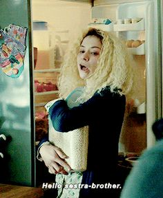 Helena // Orphan Black // Tatiana Maslany  Best. I love her even more every time she says this.