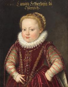 Archduchess Eleonore (1582-1620) at the age of 5 years, 1587