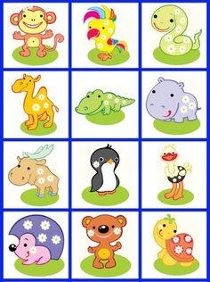 Картинки на шкафчики и кроватки в детском саду 6