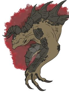 Fallout 4 Deathclaw by gearmaster154 on DeviantArt