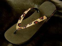 Glass Slippers CRYSTAL Flip Flops Jungle Print Golden Leopard Havaianas Cariris Thong Beach Shoes Womens