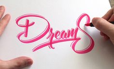 Lettering by Colin Tierney Medium used: Tombow Dual Brush Pen