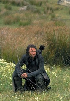 The Lord of the Rings: The Fellowship Of The Ring. Aragorn. He's just plain, flat out, awesome.
