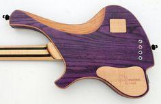 Bass of the Week: o3 Guitars Rhodium Purplehaze