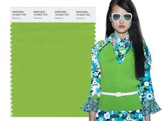 Spring/ Summer 2017 Pantone Colors: Greenery