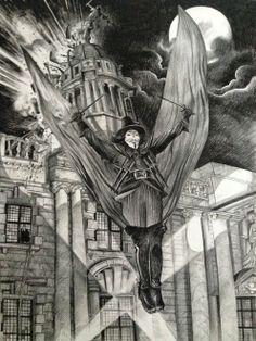 * ALAN MOORE WORLD *: V for Vendetta by David Hitchcock