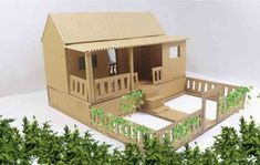 Building a model house for a school project is simple.  Just follow these steps that we have here and you'll achieve it 😮🏠