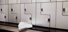 Galvanised Steel Metal Finish - designed and manufactured by Craftsman Lockers 0800 030 6082 Innovative Office, Gym Lockers, Changing Room, Gym Design, Fitness Studio, Steel Metal, Galvanized Steel, Craftsman, Home Appliances