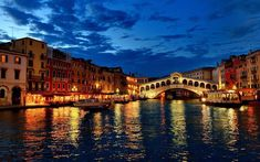 Italy Artificial Intelligence Venice City, Venice Canals, Rialto Venice, Venice House, Beautiful Places In The World, Most Beautiful Cities, Amazing Places, Beautiful Streets, Cool Places To Visit