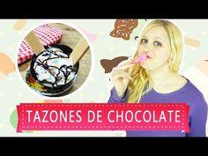 ¡TAZONES DE CHOCOLATE! UNA GRAN FORMA DE PRESENTAR TUS HELADOS @YANIBRILZ - YouTube