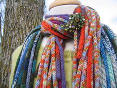 I-cord scarf