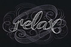 Relax   Urban Threads: Unique and Awesome Embroidery Designs