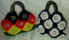 Crochet upcycled can tabs purse by Ashlea's Designs