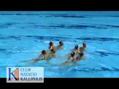2012-OGQT-London - Russian Synchronized Swimming Free Team. naysayers gonna naysay, but you have to be a straight up athlete to do this.
