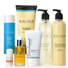 Skinn Cosmetics Seven-Piece Cleanse, Hydrate, Exfoliate & Treat Skincare System