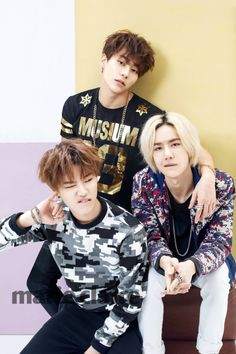 UNIQ Sungjoo, Seungyoun, and Yibo
