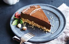 Vegan Avocado Chocolate Torte | Nourish: plant-based living