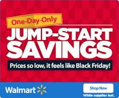 Walmart offers pre-Black Friday 2014 savings with one-day only sale Pre Black Friday Sales, Black Friday Ads, Heat Fan, Only Sale, Walmart Deals, Retro Radios, One Day Only, Online Deals, Small Appliances