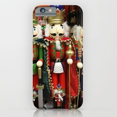 #Christmas #Nutcracker Soldiers iPhone & iPod Case  #Society6 #phonecase  #phonecover #Gravityx9 Designs