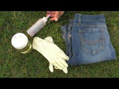 DIY Bleach and Dye Shirts and Jeans