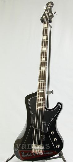 """The STREAM series bass guitars take the classic ESP bass look, and give it a number of """"streamlined"""" features including: a custom """"stream"""" body, Mahogany wood body design, sleek chrome LTD hardware, a Guitar Amp, Guitar Pics, Guitar Lessons For Beginners, Gallows, Guitar Building, Bass Guitars, Electric Guitars, Mandolin, Vintage Guitars"""