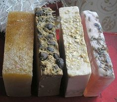 Four Luxury Gourmet Soaps Gift Wrapped by soapychica on Etsy, $16.00