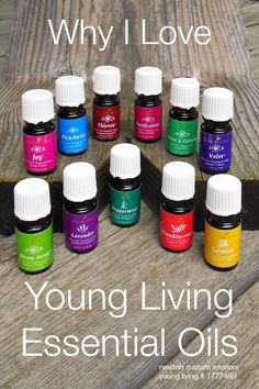 Why I Love Young Living Essential Oils from NewtonCustomInteriors.com #younglivingessetntialoils