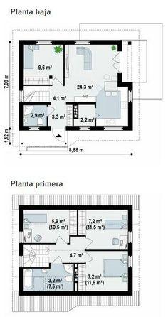 Casa pequena de 4 quartos ♥♡